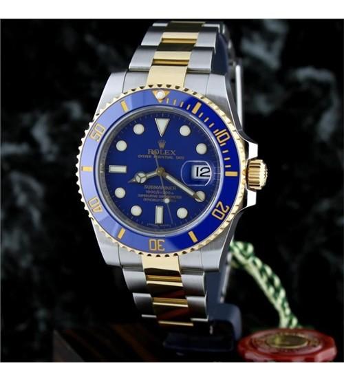 Đồng Hồ Nam Rolex Automatic Blue Light
