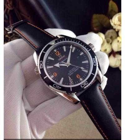 Đồng hồ Omega nam dây da OM007