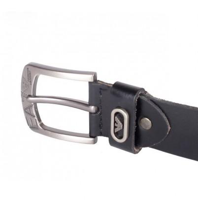 Dây nịt nam khóa kim màu đen-TLDB-46