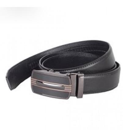 Dây lưng nam thời trang mặt khóa đen-TLDB-60