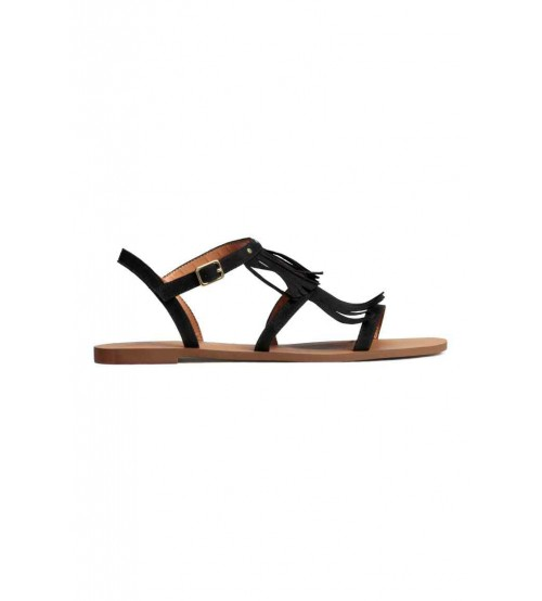 Sandals with fringes-XD22