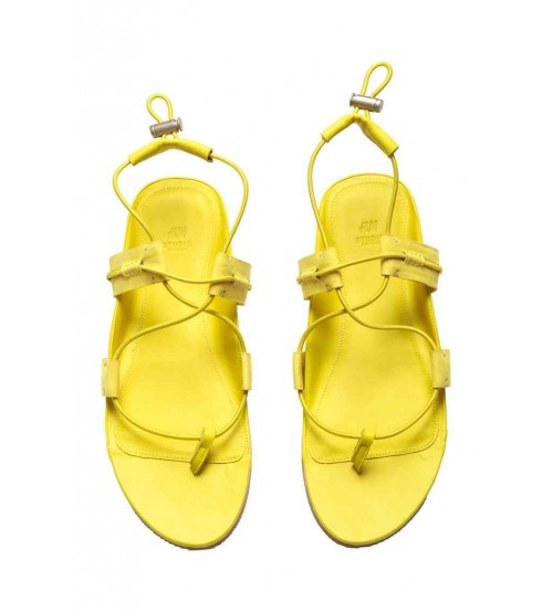 Leather sandals-XD37